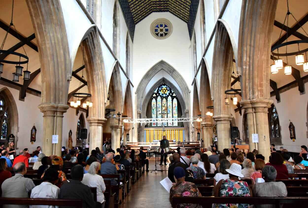 St Matthias Church N16 - venue for hire