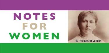 Notes for Women June 2 – Stokey Litfest