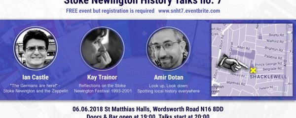 Can't wait to welcome Stokey History Talk No7
