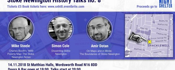 Can't wait for Stokey History Talk no.8