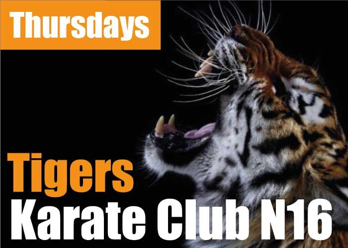 Tigers Karate - event calendar