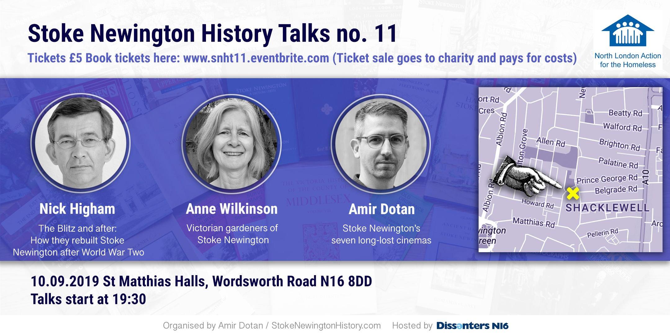11th Stokey History Talks