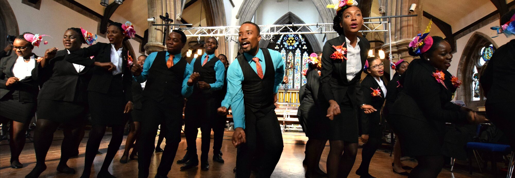 Antigua and Barbuda National Youth Choir - St Matthias Church N16