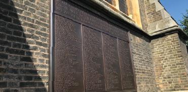St Matthias Church war memorial is restored