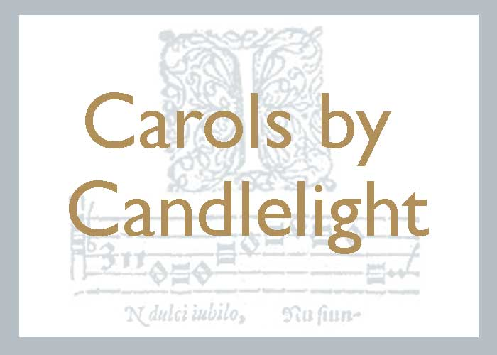 Carols by candlelight graphic